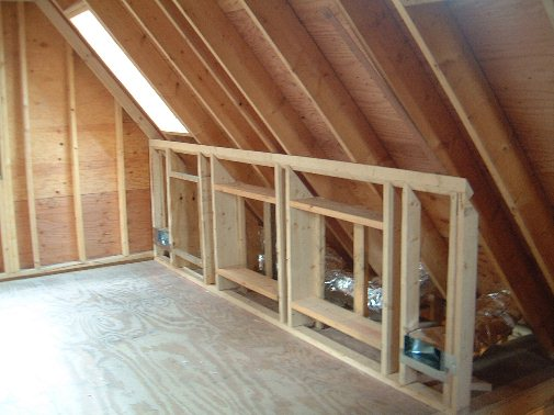attic rafter storage ideas - Reasons For Bevelling Top Plate of a Kneewall JLC line